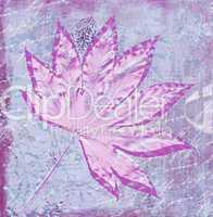 digital leaf illustration