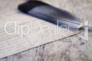 driftwood plank