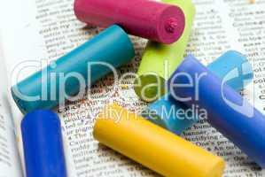 pastel chalk