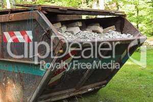 Schuttcontainer, construction waste
