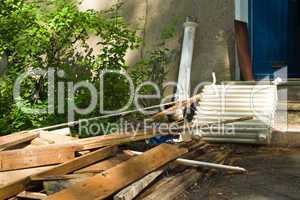 Bauabfall, construction waste