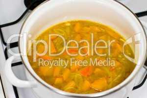Kürbissuppe, pumpkin soup