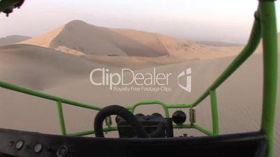 Buggy in Wüste