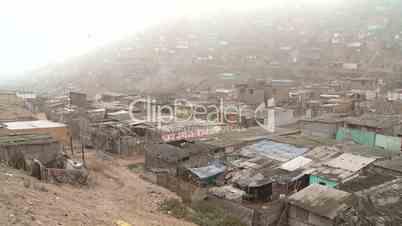 Slums Lima, Peru