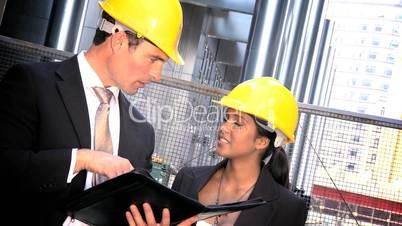 Baustellen-Begutachtung