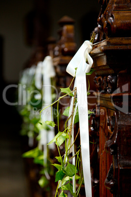 Blumenschmuck In Kirche Royalty Free Images Photos And Pictures