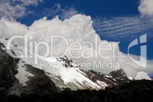 Gletscher in Anden