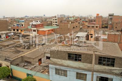 Dächer in Lima