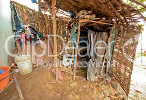 Toilette in Slums (Lima, Peru)