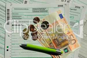 Steuererklärung 2008