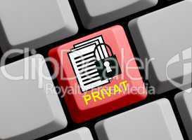 Private Daten sicher schützen