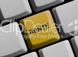 Rund um das Thema Rente im Internet