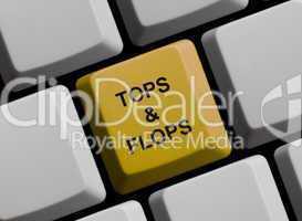 Tops und Flops im Internet
