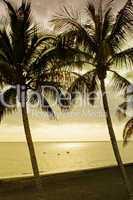 Sonnenlicht am Strand