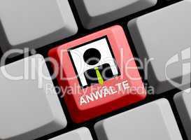 Anwälte online suchen und finden