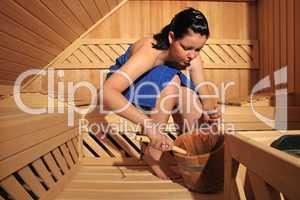 Saunabesuch