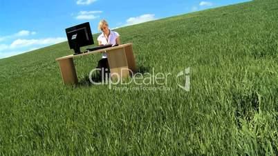 Büro im Freien 3