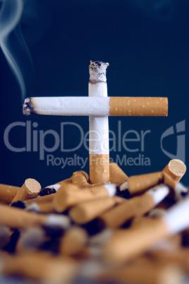Zigarettenkreuz