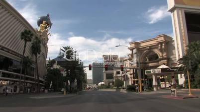 Straße in Las Vegas