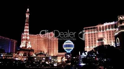 Beleuchtete Gebäude in Las Vegas