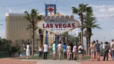 Schild in Las Vegas