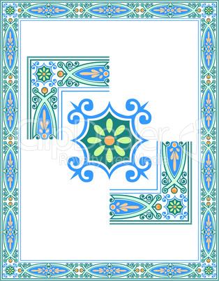 Rahmen mit Ornament