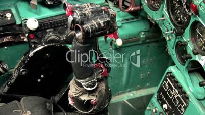 Cockpit einer sowjetischen Mig