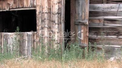 Stall / Hütte aus Holz