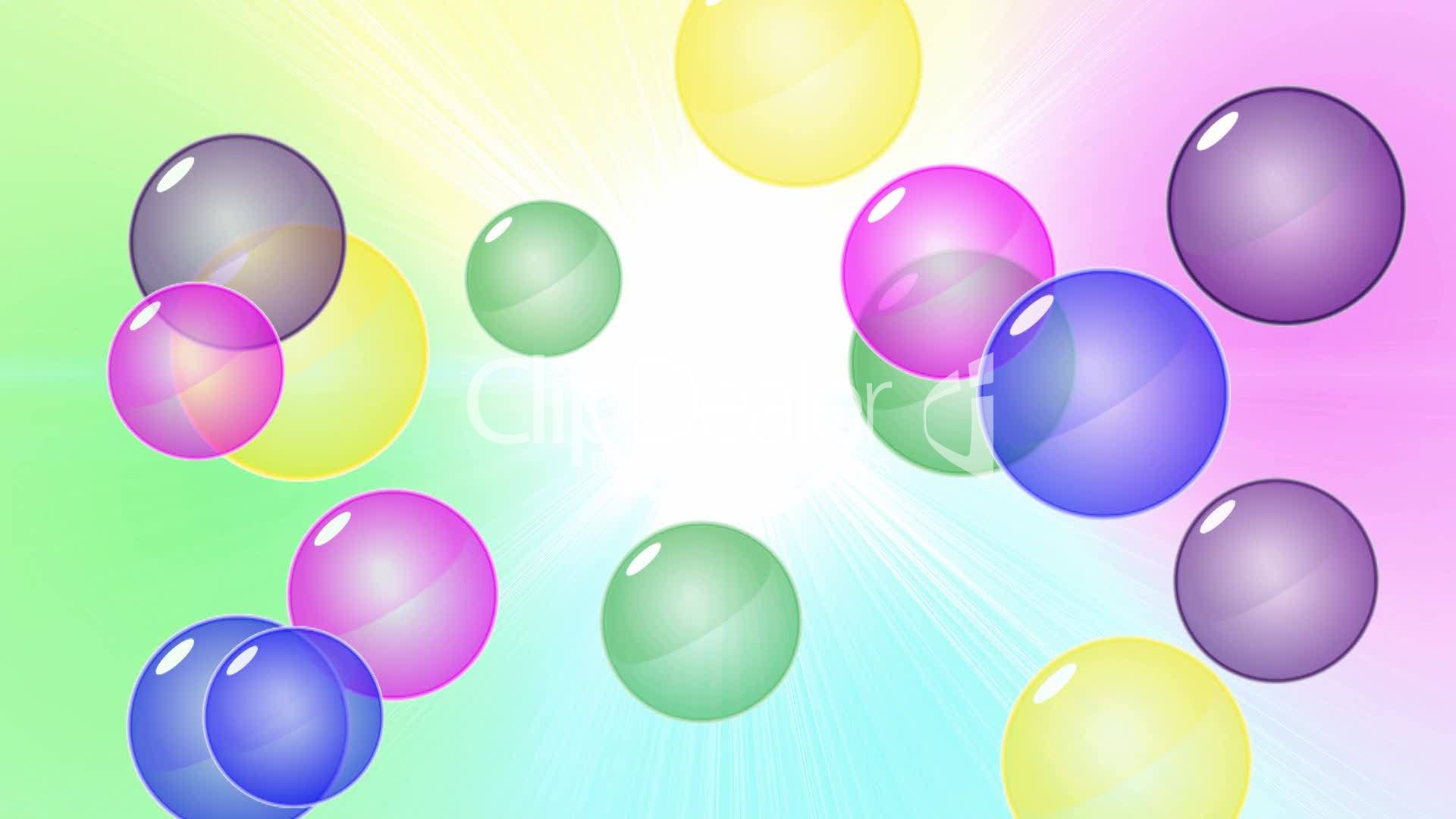 Bubble Background HD1080: Royalty-free video and stock footage