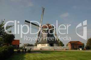 Windmühle in Werdum