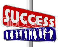 Motivation Slogan zum Erfolg