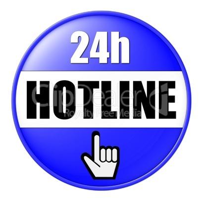 Button 24h Hotline
