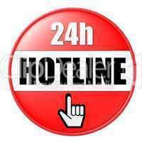 Button 24h Hotline