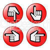 Button zeigefinger