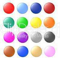 Button Set blank