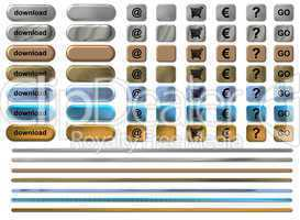 Homepage Buttons Download blank