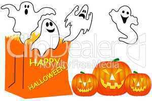 Halloween Gespenst Geist