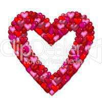 freigestelltes Herz Symbol
