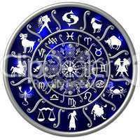 Sternzeichen Horoskop Scheibe Zodiac