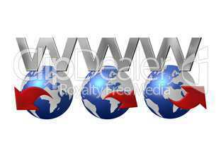 World Wide Web - WWW - freigestellt