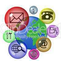 globale Kommunikation per Internet