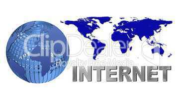 Internet Logo freigestellt