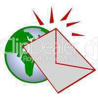 Brief um die Welt