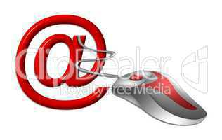 eMail Symbol freigestellt