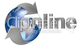 Online Logo freigestellt