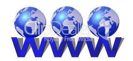 World Wide Web - WWW - freigestellt