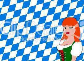 Bayerischer Hintergrund