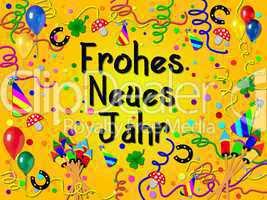 Hintergrund Frohes Neues Jahr