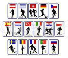 europäische Fußballspieler