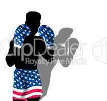 Boxer im Stars & Stripes Design